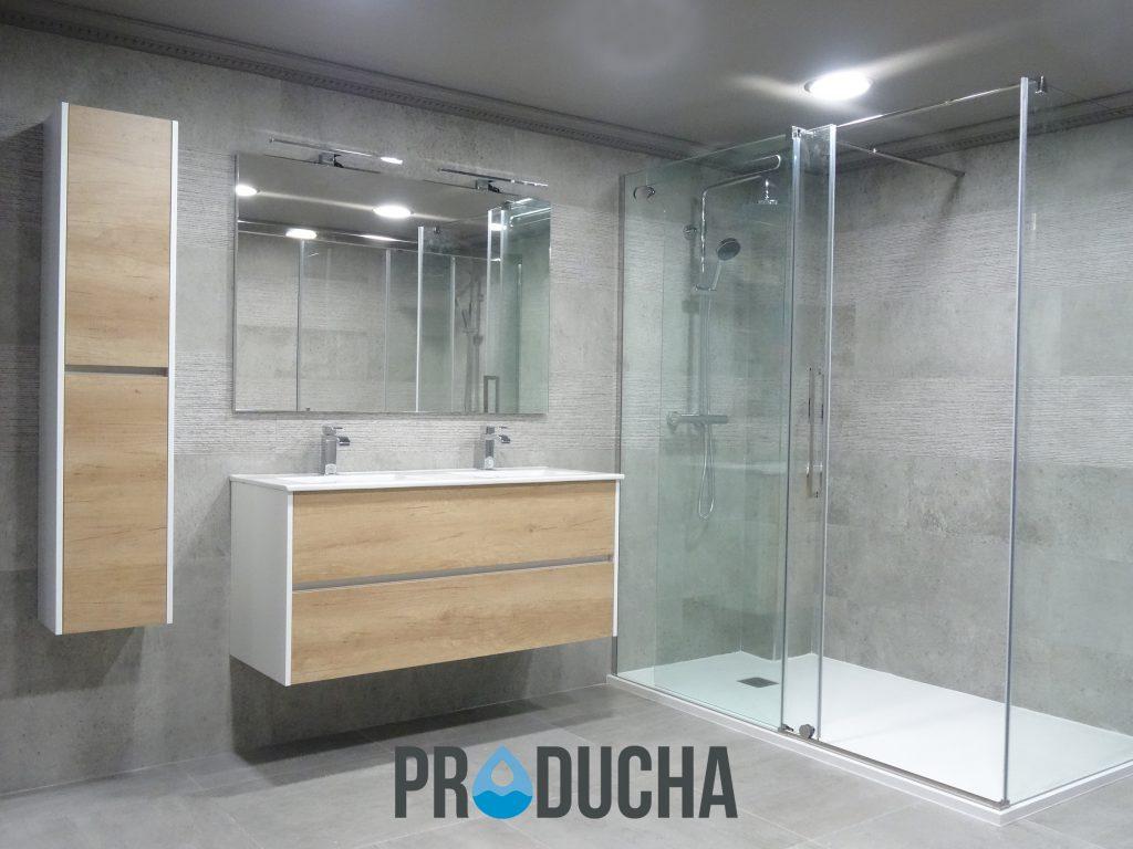 Plato de ducha por baera great baera por plato ducha with for Cambiar vastago de ducha