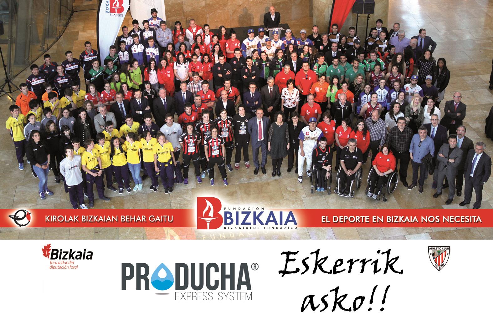 Producha patrocinador deporte bizkaia